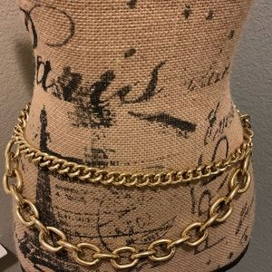 Vintage early 90's chain belt
